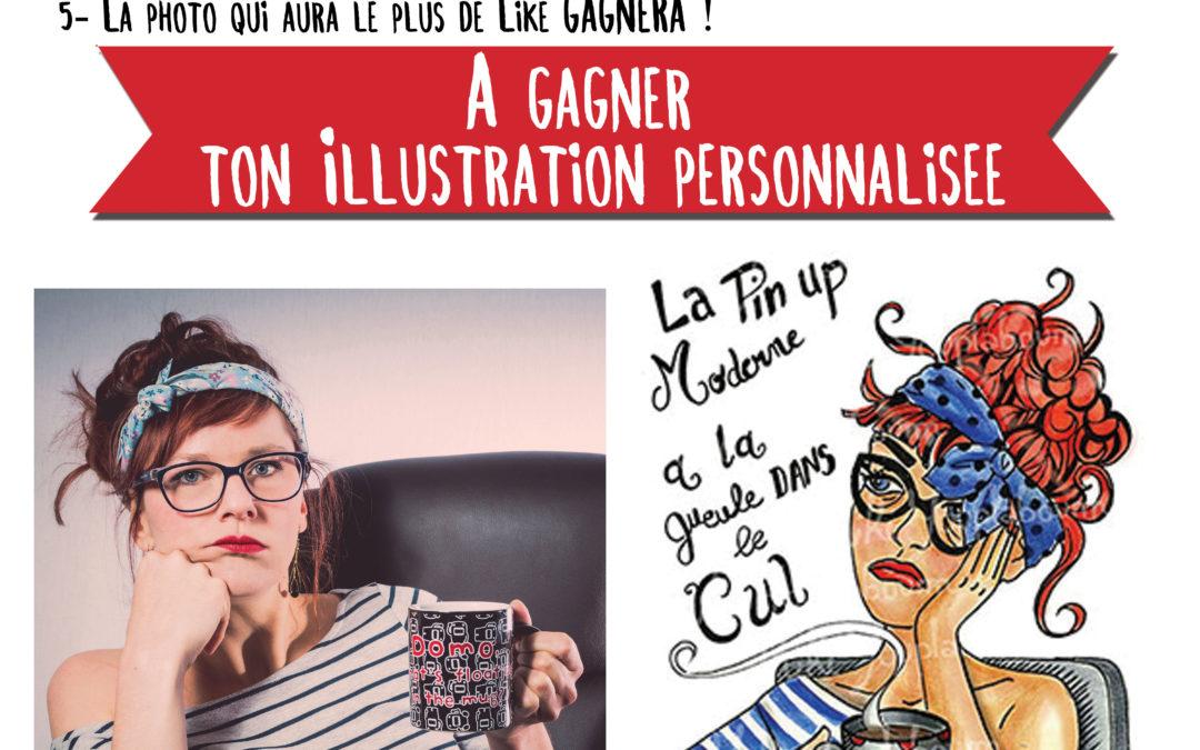Un concours photo «La Pin up Moderne» !