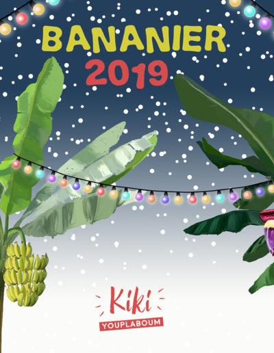Illustration carte de bonne année