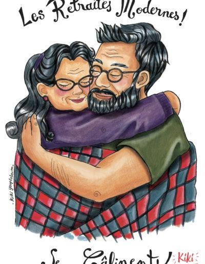 Illustration retraités