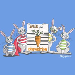 """Page de couverture """"le test du lapin"""" Orient'Action"""