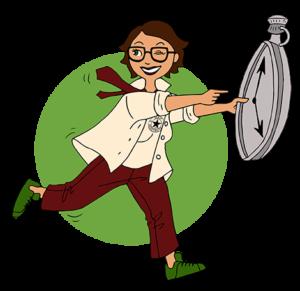 """Illustration d'un avatar pour """"Max Assistante"""""""
