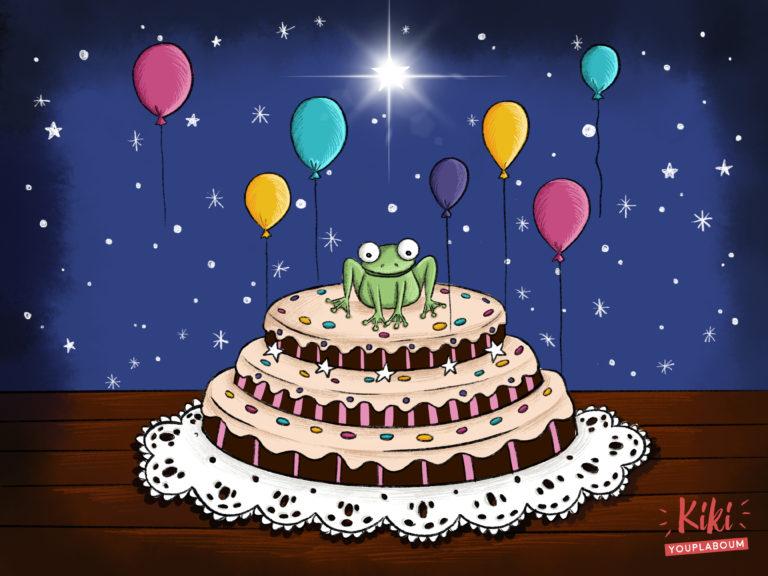 illustration gâteau jeunesse