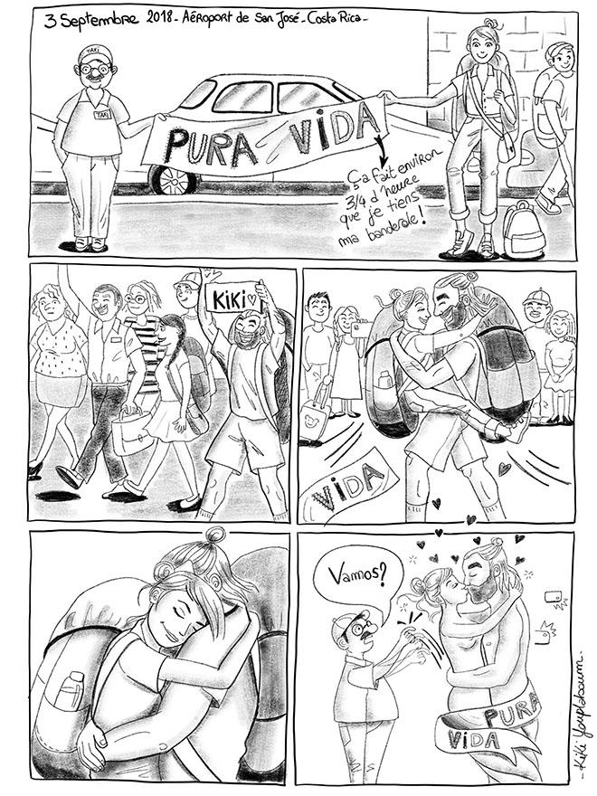 Illustration planche BD