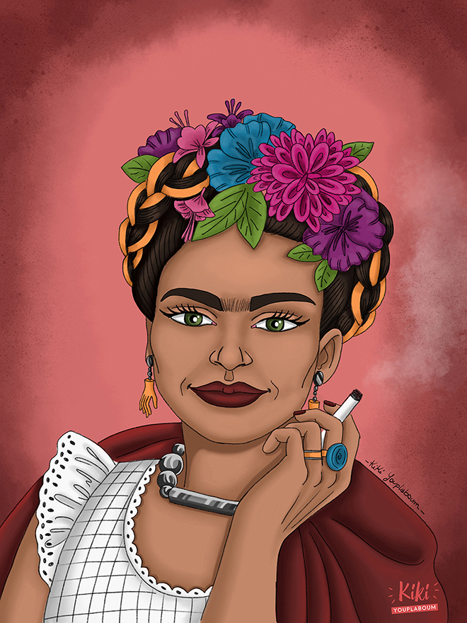 illustration Frida
