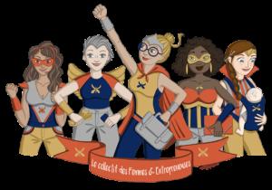 visuel collectif femmes entrepreneuses