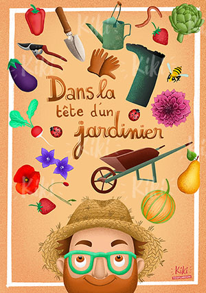 Illustration jardinier