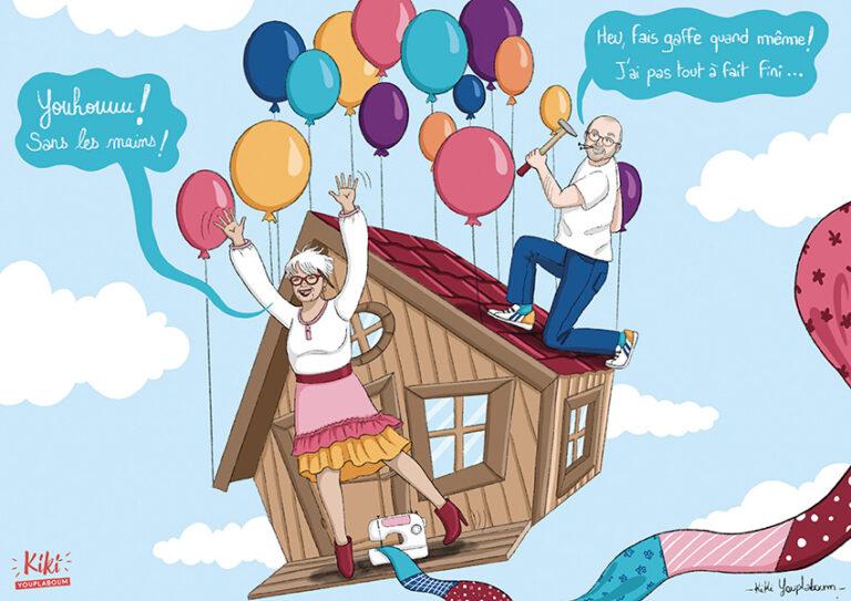 Illustration grand-parents